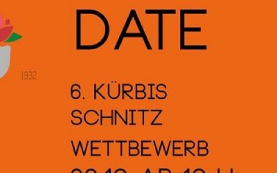 Save The Date. #kürbisschnitzwm2019…