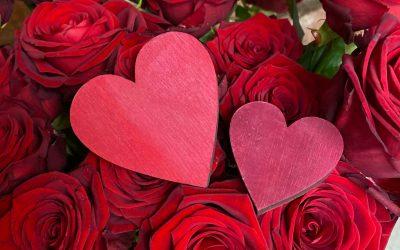 Am Wochenende ist Valentinstag….