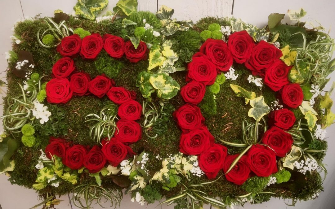 Sag`s mit Blumen…. wenn man schon nicht gemeinsam feiern kann, senden wir gern…